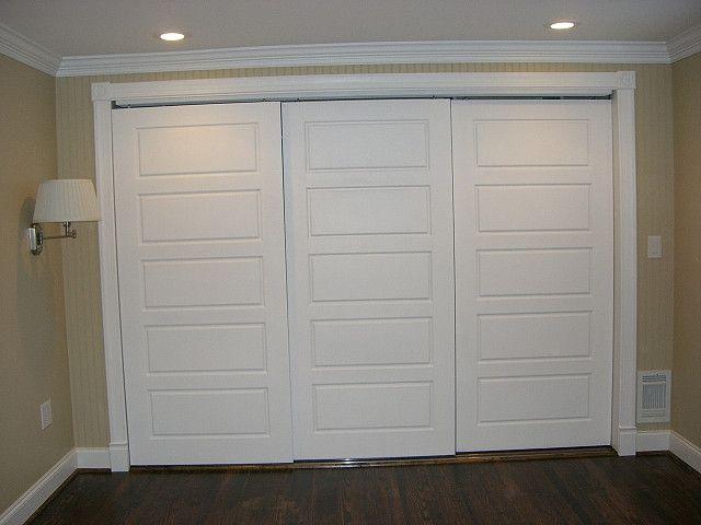 Master Bedroom Closet doors | Bedroom closet doors, Sliding closet .