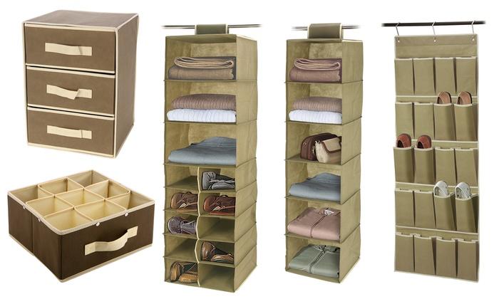 Closet Storage Organizers | Groupon Goo