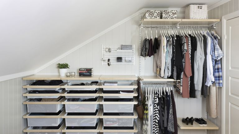 Clothes storage ideas: 20 ways to get your wardrobe organised .