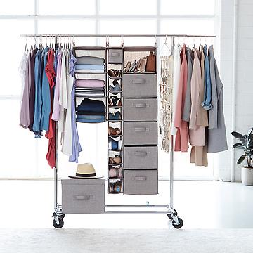 Closets: Closet Organizers, Closet Storage Ideas & Clothing .