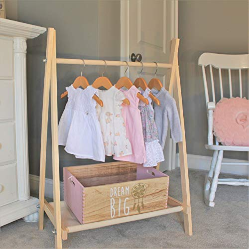 Amazon.com: Clothing Rack, Nursery Decor, Dress Up Station, Kids .