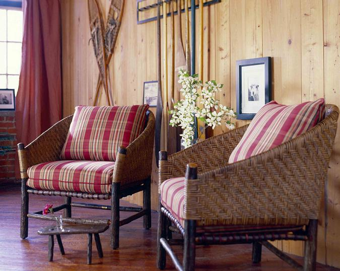Captain's Chair - Old Hickory Furniture - Lodge Cra