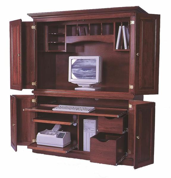 Desk Armoire from DutchCrafters Amish Furnitu