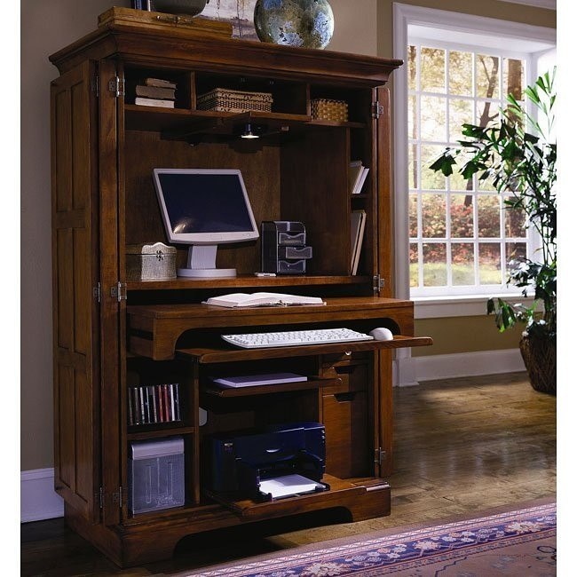 Grandview Computer Armoire Samuel Lawrence Furniture | Furniture Ca