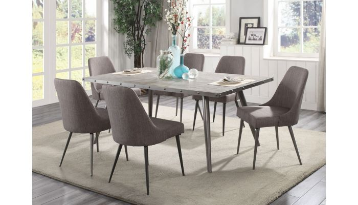 Erica Mid-Century Modern Dining Table S