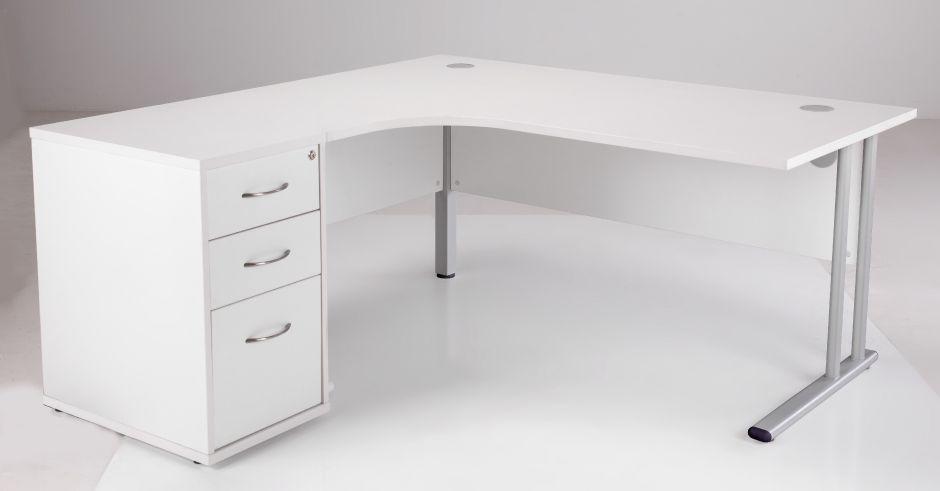 Awesome White Corner Desk - Really Inspiring Desi