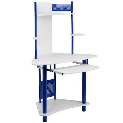 Flash Furniture Modern/Contemporary White Corner Desk at Lowes.c