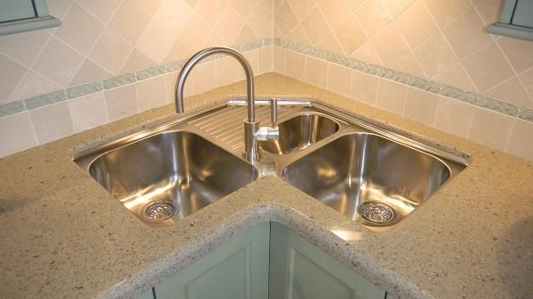 23 Exciting Design of Corner Kitchen Sink Ideas For Best Cooking .
