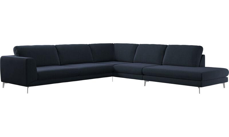 Corner sofas - Fargo corner sofa with lounging unit - BoConce