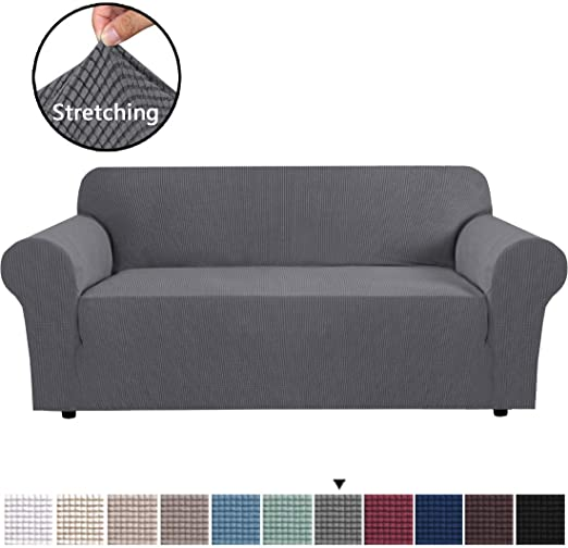 Amazon.com: H.VERSAILTEX Stretch Sofa Covers Couch Cover Furniture .