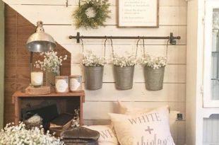 37 DIY Decor Ideas For The Country Home | Farmhouse wall decor .