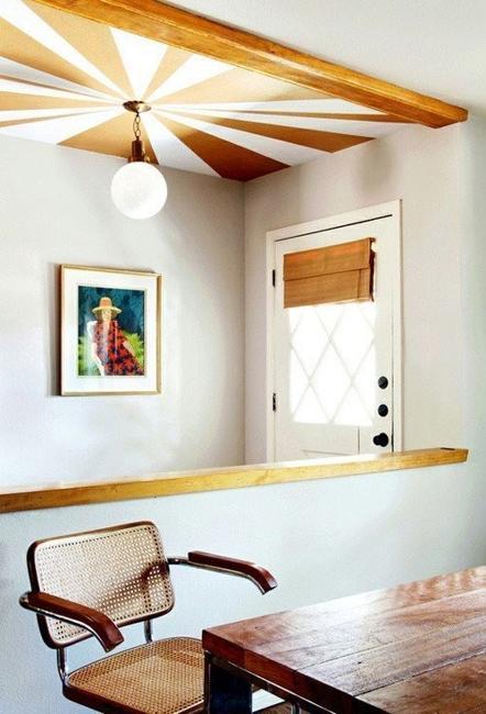 22 Unusual Ceiling Designs, Creative Interior Decorating Ide