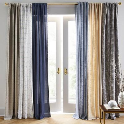 Doral Curtain Panels Cream - Project 62™ : Targ