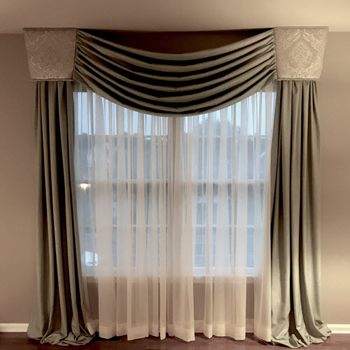 Custom Draperies and Curtains | I & I Designs, LLC | New Jers