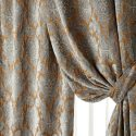 damask curtains