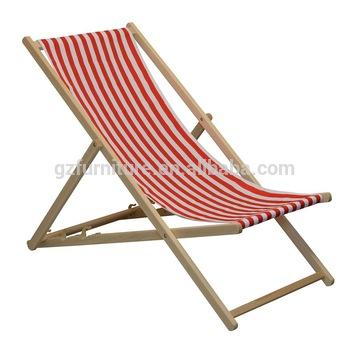 Traditional Folding Hardwood Garden Beach Deck Chairs Deckchairs .