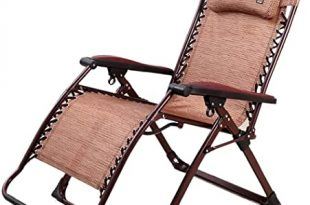 Amazon.com : Recliners Deck Chairs Balcony Metal Folding Nap Chair .