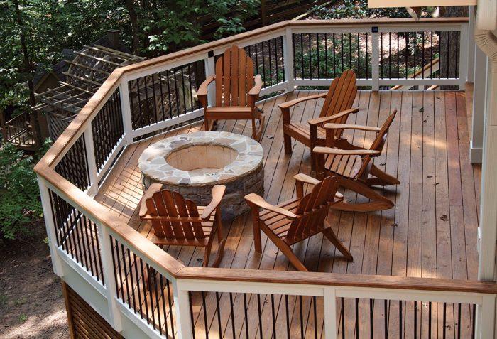 First-Floor Deck Ideas - Fine Homebuildi