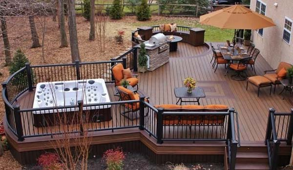 32 Wonderful Deck Designs To Make Your Home Extremely Awesome .