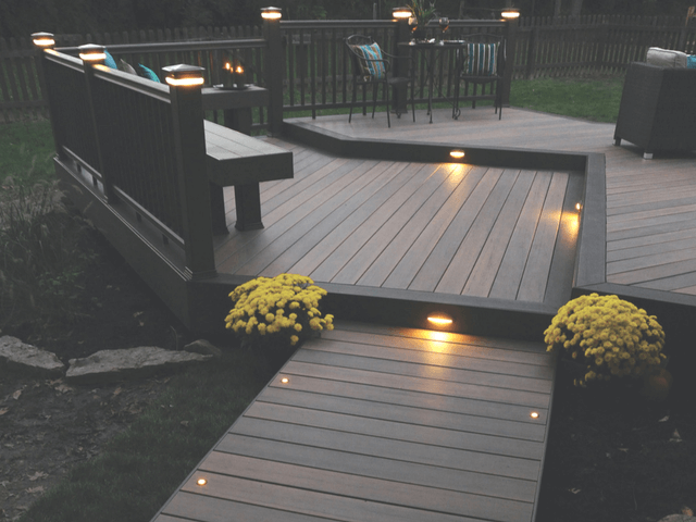 Be Creative by making out your own Custom Deck through decking .