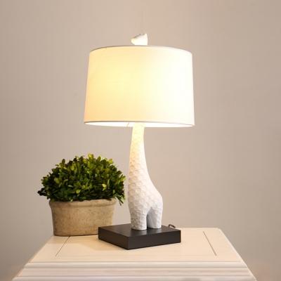 Giraffe Table Lamp By Designer Lighting In White - Beautifulhalo.c