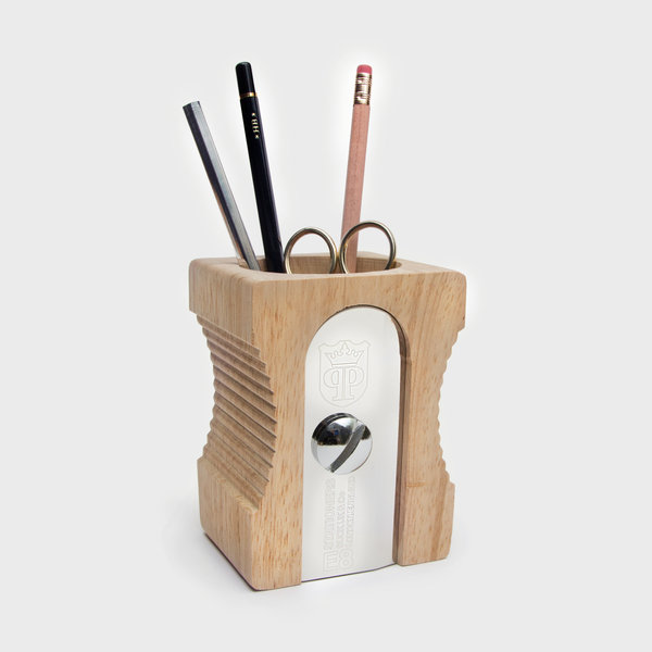 Sharpener Desk Tidy : Supersize pencil sharpener pen-po