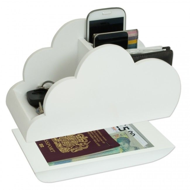 Cloud Storage Desk Tidy | Desk tidy, Desk storage, Desk gadge
