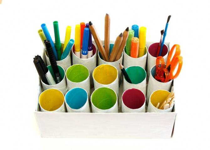 TP Roll Desk Tidy - Fun Crafts Ki