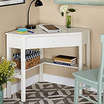 Amazon.com: This Classically Styled Desk utilizes a Small Space .