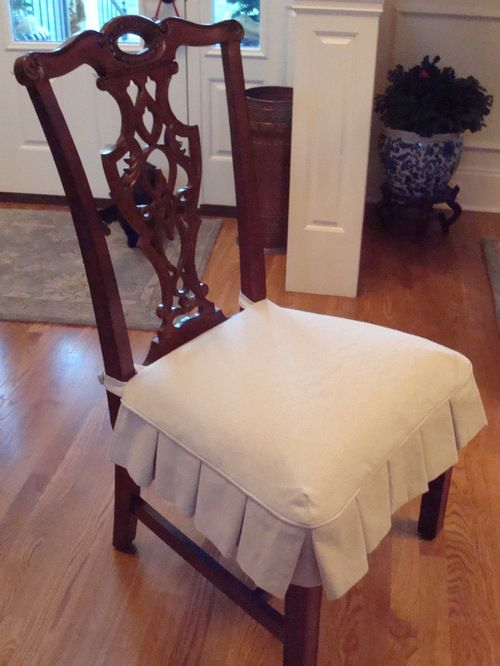 Dining Chair Slipcovers - Dining Chair seat slipcover | Чехлы на .