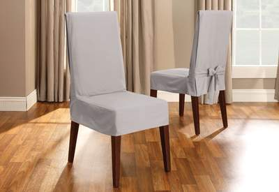 Dining Chair Covers & Slipcovers | Slipcovers For Dining Chairs .