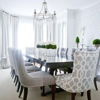 """comfy dining room chairs // """"Where can folks get better acquainted ."""