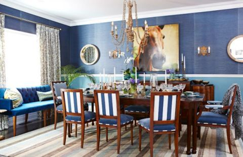 Casual Formal Dining Room - Dining Room Decorating Ide