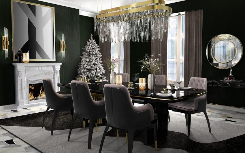 Modern Dining Room Ideas For Thanksgivi