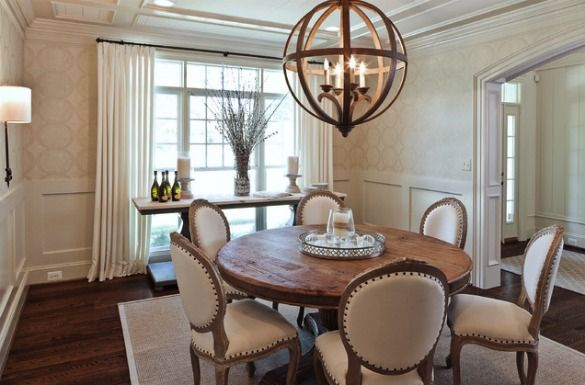 Light Fixtures for Open Concept Dining Rooms | Dining room design .
