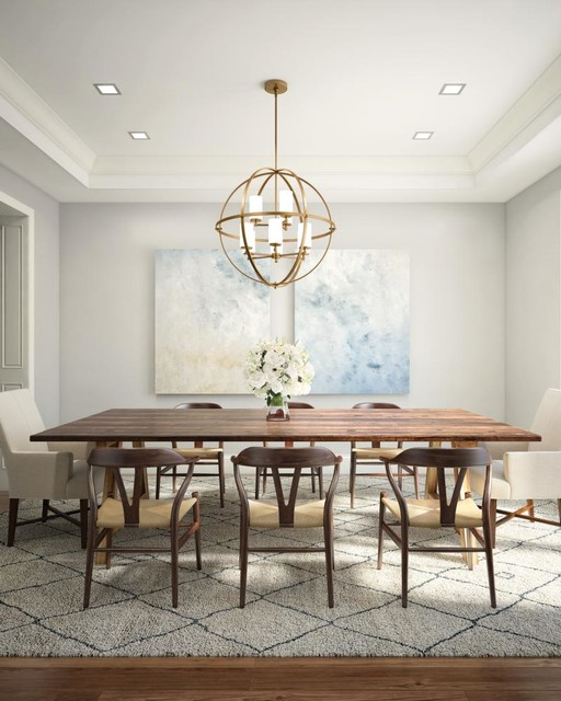 Dining Area Lighting - Dining Room - Detroit - by Michigan .