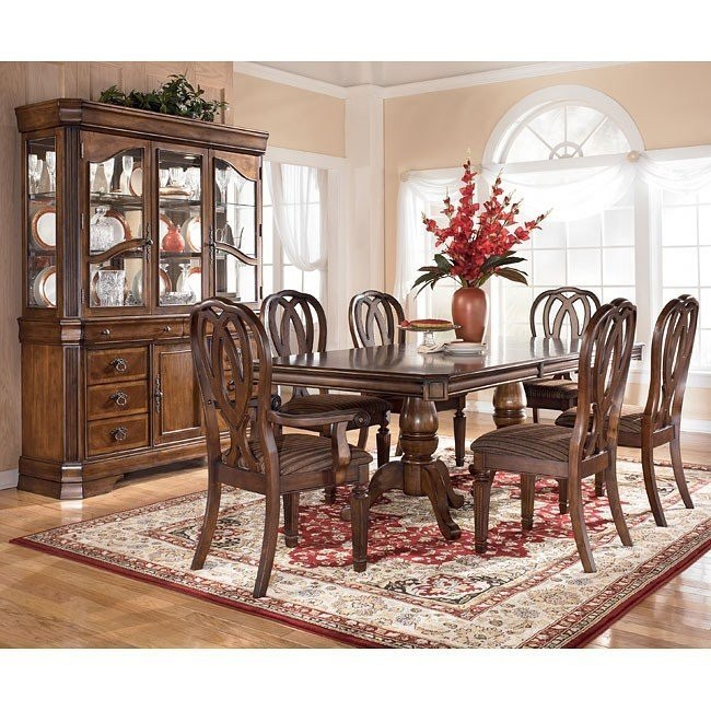 Hamlyn Pedestal Dining Room Set Signature Design By Ashley .