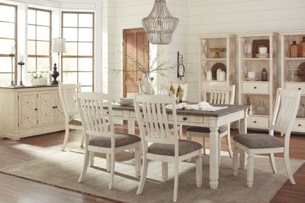 Bolanburg Rectangular Dining Room Set - 1StopBedroom