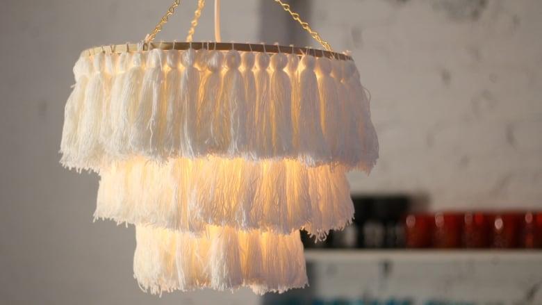 DIY Tassel Chandelier | CBC Li
