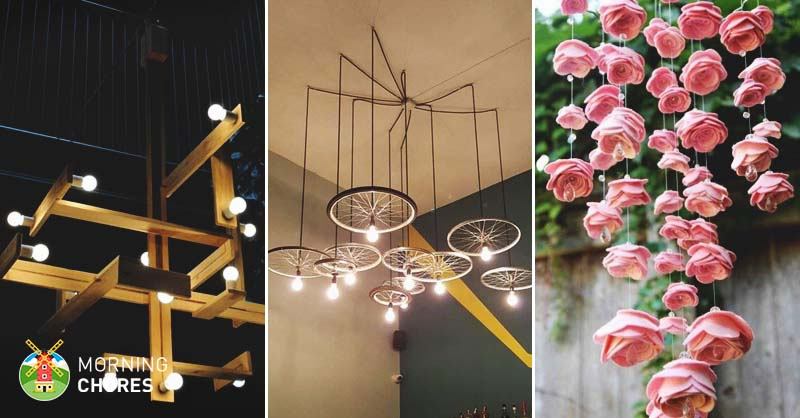 34 Beautiful DIY Chandelier Ideas That Will Light Up Your Ho