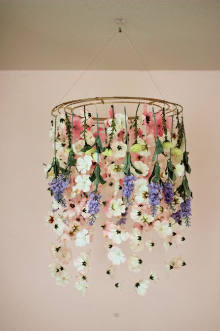 Make A DIY Chandelier Easily With These Ideas - Cozy D
