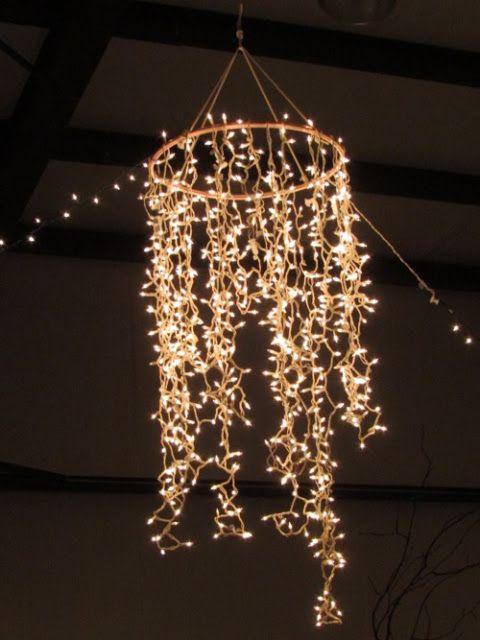 15 Creative and Cool DIY Chandelier Designs. | Diy chandelier .
