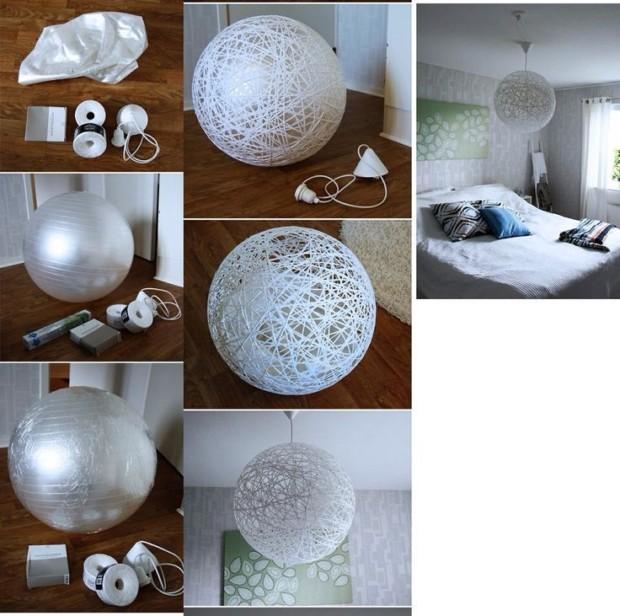 diy-chandelier-ideas - My Daily Magazine - Art, Design, DIY .