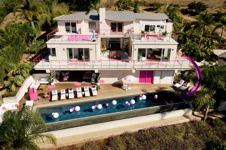 Barbie Malibu Dreamhouse is listed on Airbnb for $60 a nig