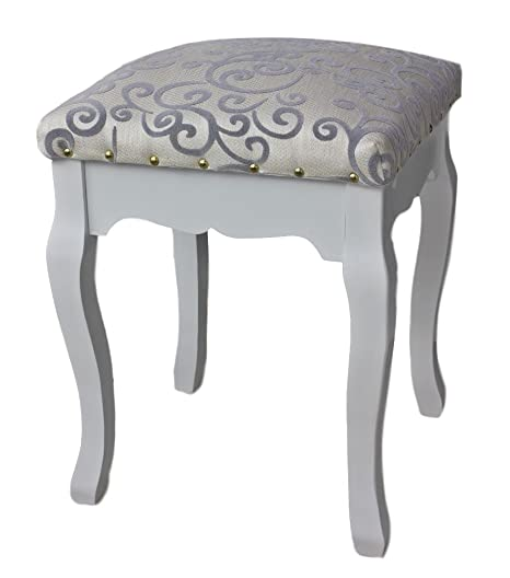 elbmoebel Dressing table stool cushion padded chair available in .