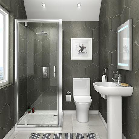 Orion Space-Saving En-Suite Bathroom | Victorian plumbing