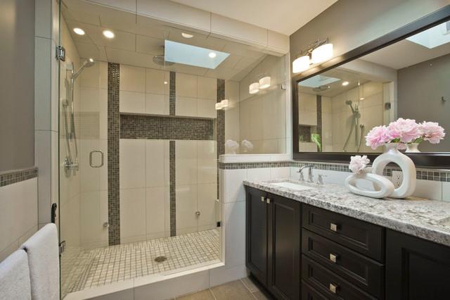 Master Ensuite Bathroom - Transitional - Bathroom - Vancouver - by .