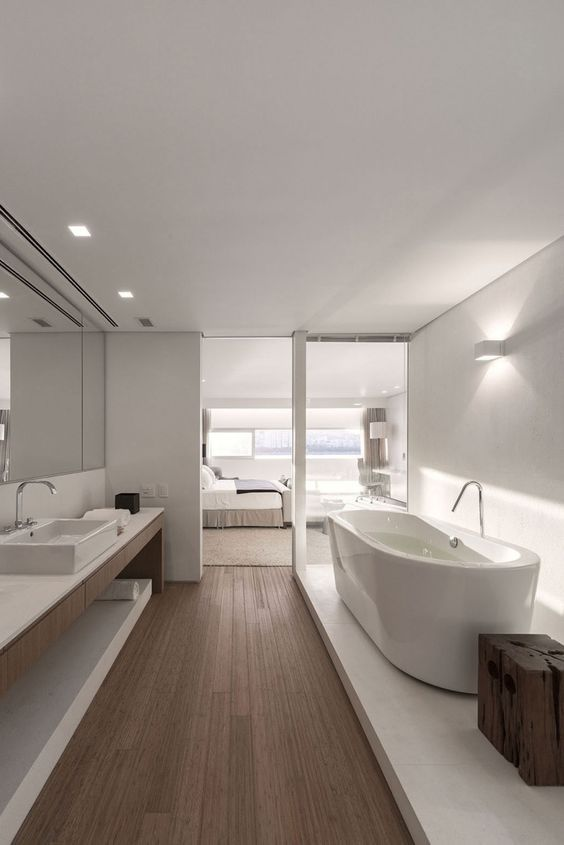 Luxurious ensuite bathrooms are always a good thing. | Modern .