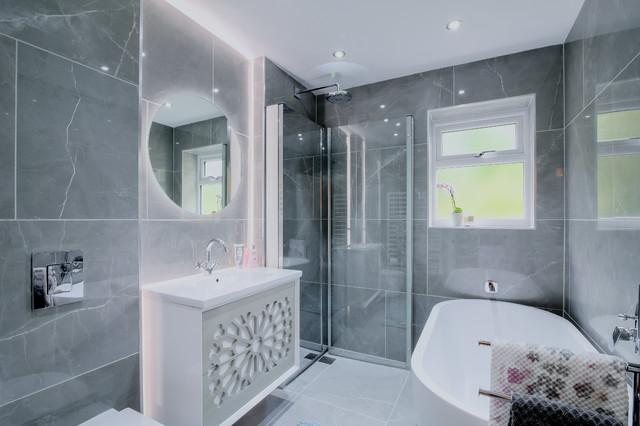 Ensuite Bathrooms - Contemporary - Bathroom - Manchester - by .
