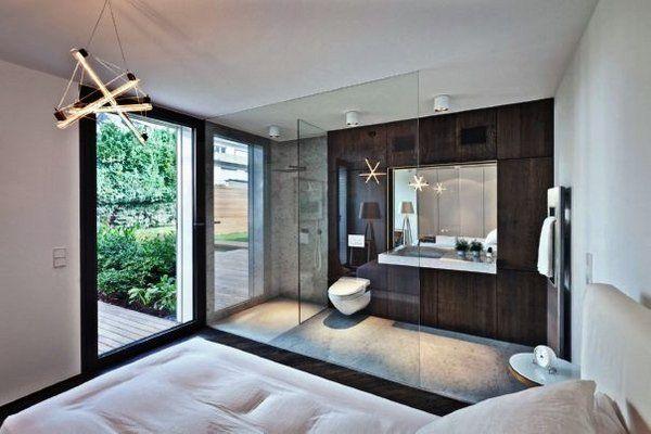 Open Plan Bedroom Ensuite Ideas | Open plan bathrooms, Ensuite .